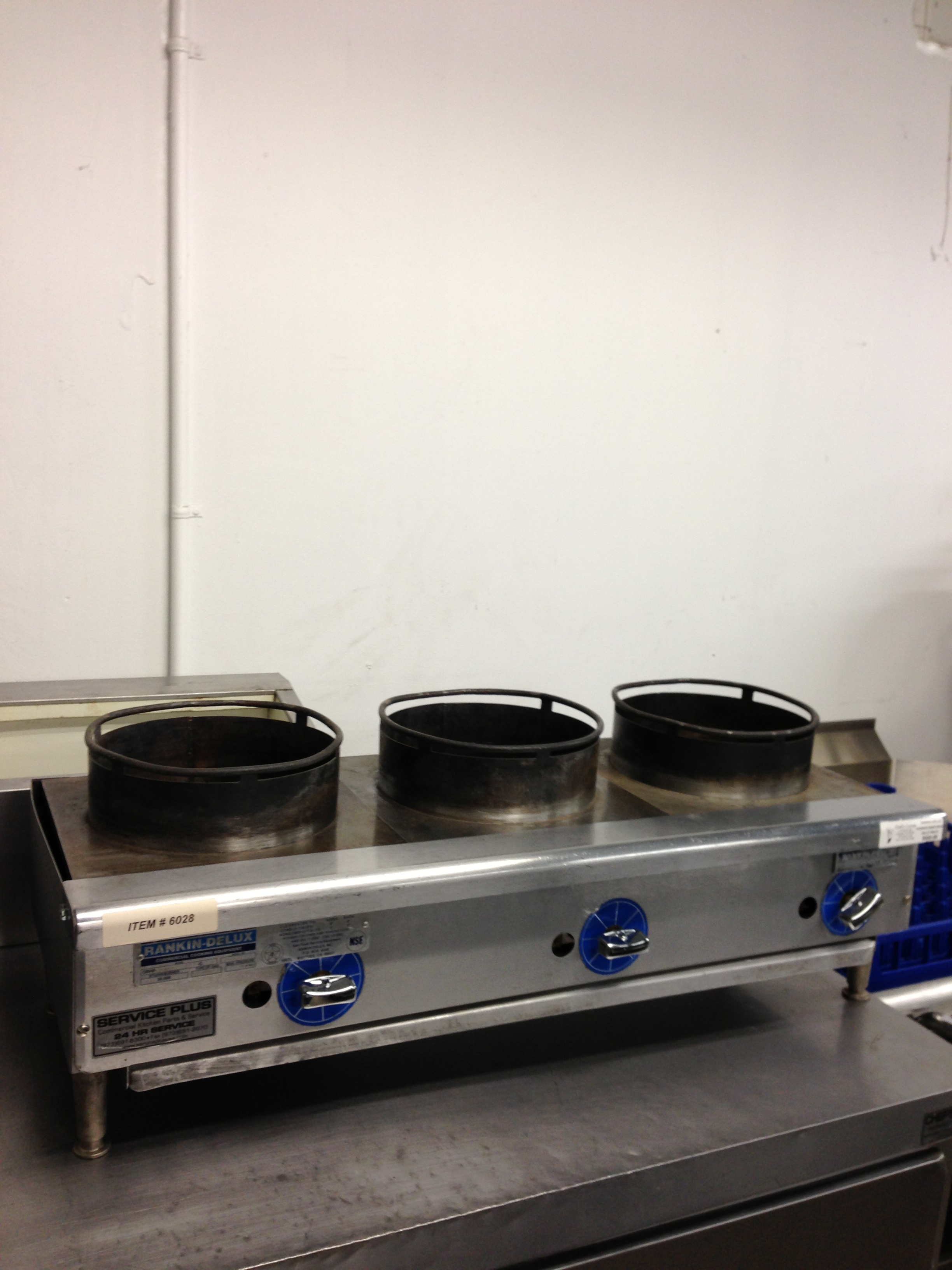 Reconditioned RankinDelux ORHP224C Wok Range  Chef39;s Corner