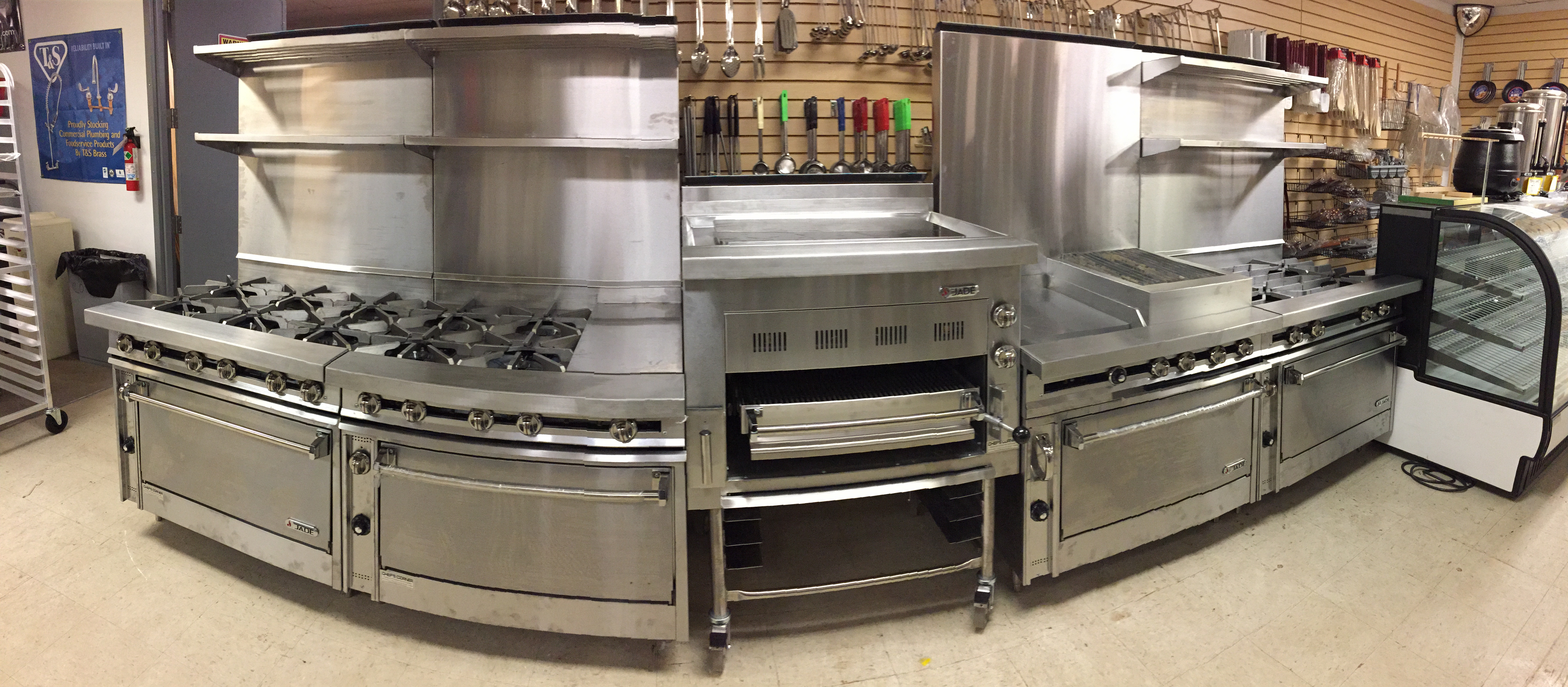 White beeches golf and country club cooking equipment for Culinary kitchen equipment