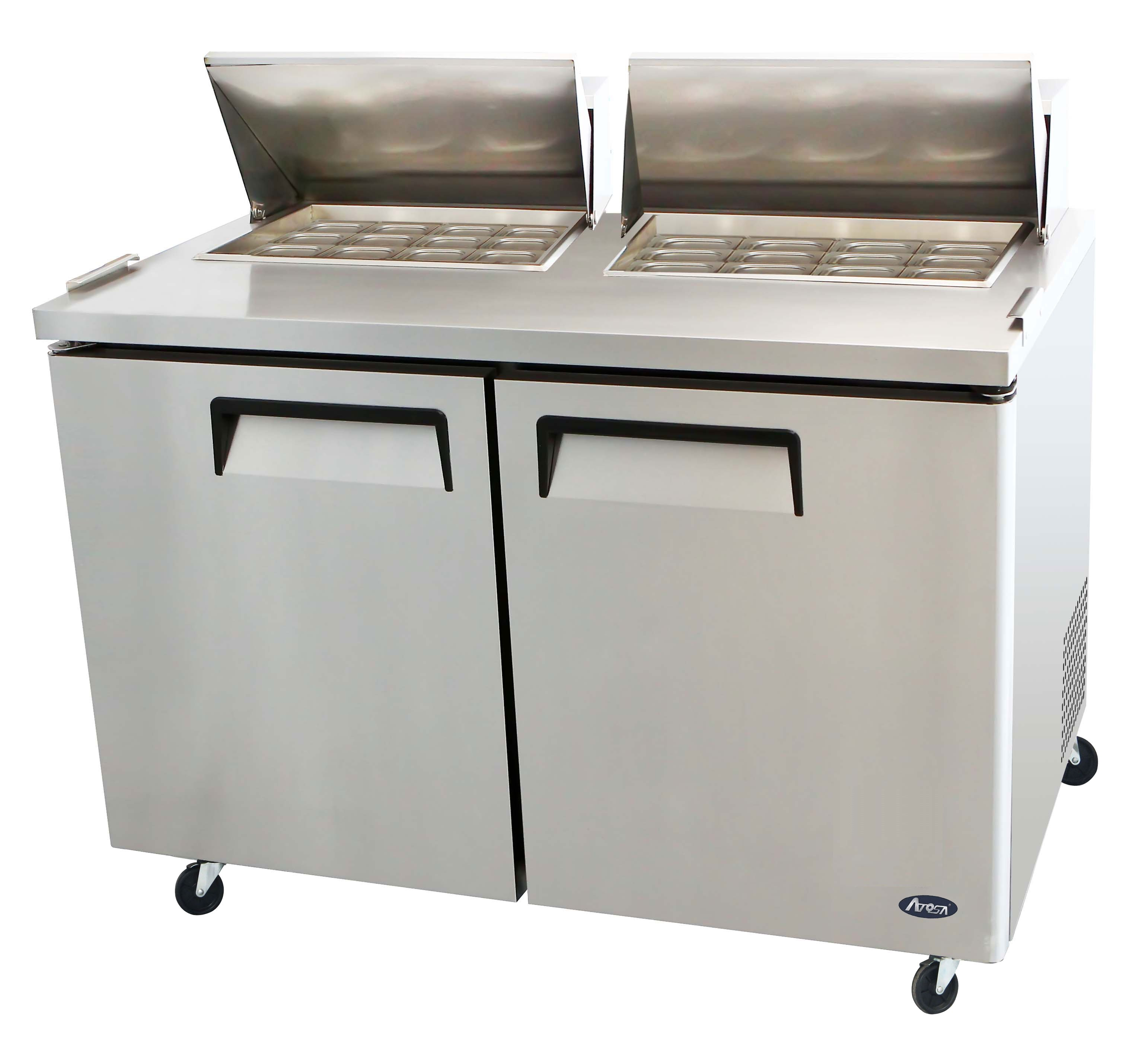Atosa MSF Mega Top Sandwich Prep Table CALL FOR BETTER - Commercial prep table refrigerator