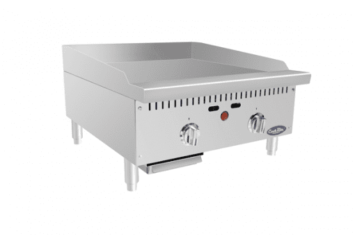 "Atosa ATMG-24T 24"" Thermostatic Griddle"
