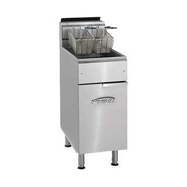Imperial IFS-40 40 Lb. Gas Fryer