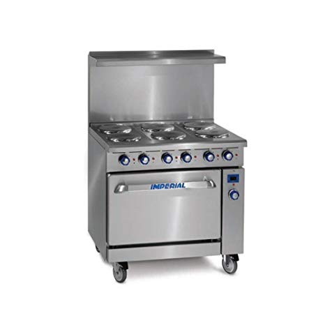 36 Electric Range >> Imperial Ir 6 E 36 Electric Range